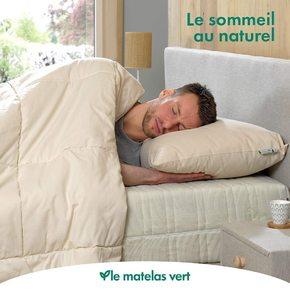Découvrez notre gamme coton #biologique #couette #oreiller avec de la pure laine de 🐑🐏🐑🐏🐑🐏 issus de troupeaux 100% 🇫🇷 et #bio 🌽 bien sûr !! #lematelasvert